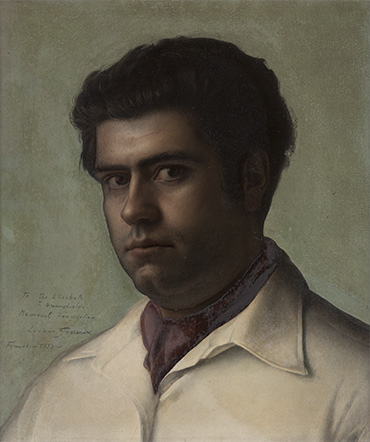 LUCIANO GUARNIERI  Self Portrait Oil on panel