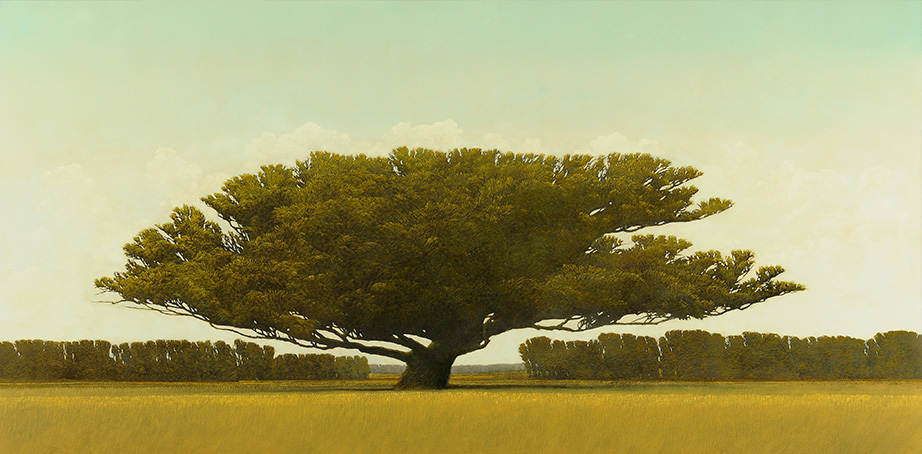 ROBERT MARCHESSAULT Albero di massima Oil on panel